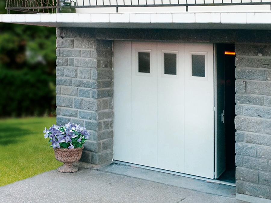 Portes De Garage Sectionnelles - Porte de garage sectionnelle avec panneau de porte pvc