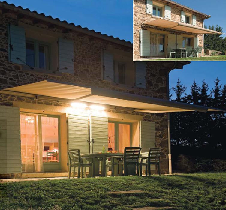 des stores bannes pour balcons et terrasses. Black Bedroom Furniture Sets. Home Design Ideas